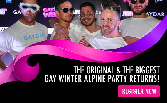 The Original & The Biggest Gay Winter Alpine Party Returns!